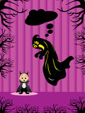 Illustration for halloween. Vector illustration for halloween celebration Royalty Free Illustration