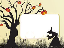 Illustration of halloween background series Royalty Free Stock Photography