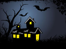 Illustration of halloween background series Stock Photography