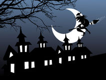 Illustration of halloween background series Stock Photo