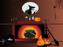 Illustration for halloween day Royalty Free Stock Image