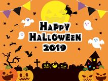 Halloween background4. It is an illustration of a Halloween vector illustration