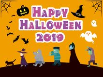 Halloween background3. It is an illustration of a Halloween vector illustration