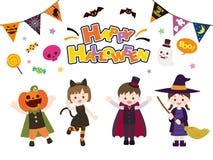 Halloween set4. It is an illustration of a Halloween royalty free illustration