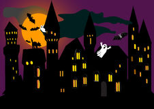 Illustration for Halloween holiday. vector. Stock Image