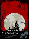 Illustration of Halloween night background for you design Stock Photos
