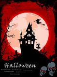 Illustration of Halloween night background for you design Royalty Free Stock Image