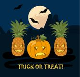 Illustration for Halloween Royalty Free Stock Images