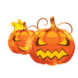 Illustration Halloween pumpkin Royalty Free Stock Images