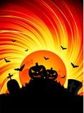 Illustration on a Halloween theme Royalty Free Stock Image