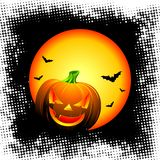 Illustration on a Halloween theme Stock Images