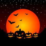 Illustration on a Halloween theme Royalty Free Stock Image
