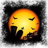 Illustration on a Halloween theme Royalty Free Stock Photography
