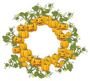 The illustration on a Halloween theme. Royalty Free Stock Photography
