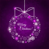 Illustration hanging Christmas multicolor balls Royalty Free Stock Images
