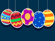 Illustration of Hanging Easter Egg stock illustration