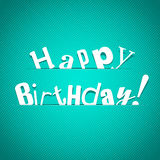 Illustration for happy birthday card Stock Images