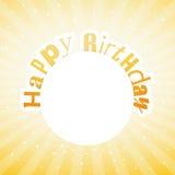 Illustration for happy birthday card Stock Photos