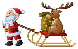Happy boy singing christmas carols Stock Photography