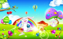 Happy Easter Bunny Royalty Free Stock Image