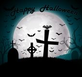 Happy Halloween background Royalty Free Stock Image
