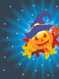 Illustration for happy halloween celebration. Vector illustration of happy halloween background, illustration Stock Illustration
