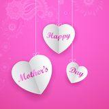 Happy Mother's Day Background Stock Image