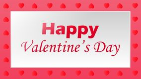 Happy valentine`s day stock illustration