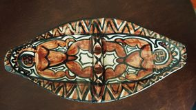 Illustration hawaïenne de motif Image stock