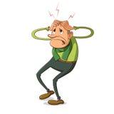 Illustration of headache Stock Images