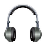 Illustration of Headphones. Headphones isolated on a white background Royalty Free Stock Images