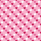 Illustration with hearts, seamless background, heart pattern Royalty Free Stock Photos