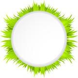 Frontière herbeuse Photographie stock libre de droits