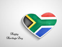 Illustration of Heritage Day Background Stock Photos