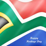 Illustration of Heritage Day Background Royalty Free Stock Images