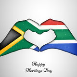 Illustration of Heritage Day Background Stock Photography