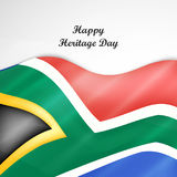 Illustration of Heritage Day Background Stock Images