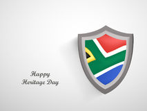 Illustration of Heritage Day Background Royalty Free Stock Photography