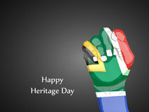 Illustration of Heritage Day Background. Illustration of elements of Heritage Day Background Royalty Free Stock Photo