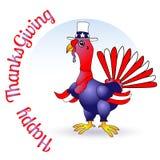 Illustration heureuse de vecteur de conception de thanksgiving illustration stock