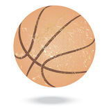 Basketball vintage Stock Image