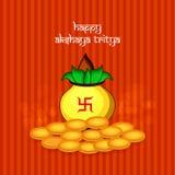 Illustration of Hindu festival Akshaya Tritiya background. Illustration of elements of Hindu festival Akshaya Tritiya background Stock Photos