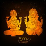Illustration of hindu festival Diwali background. Illustration of elements of hindu festival Diwali background Stock Photography