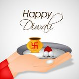 Illustration of hindu festival Diwali background. Illustration of elements of hindu festival Diwali background Royalty Free Stock Photos