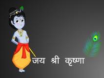 Illustration of Hindu Festival Janmashtami background. Illustration of elements of Hindu Festival Janmashtami background. Janmashtami is a festival celebrated on Royalty Free Stock Photos