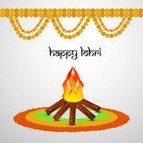 Illustration of hindu festival Lohri background. Illustration of elements of hindu festival Lohri background Stock Photos