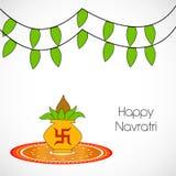 Illustration of hindu festival Navratri Background. Illustration of elements of hindu festival Navratri Background Stock Photography