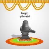 Illustration of Hindu festival Shivratri background. Illustration of elements of Hindu festival Shivratri background Royalty Free Stock Photos