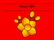 Illustration of Hindu festival Vishu Background. Celebrated in the Indian state of Kerala Stock Photos