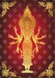 Illustration of Hindu God Brahma Stock Images